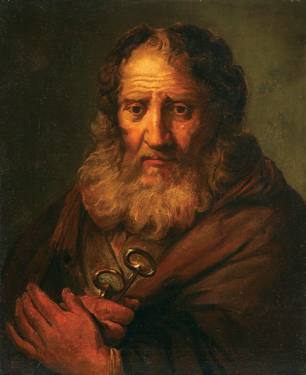 OLD MASTER OIL PAINTING, SAINT PETER