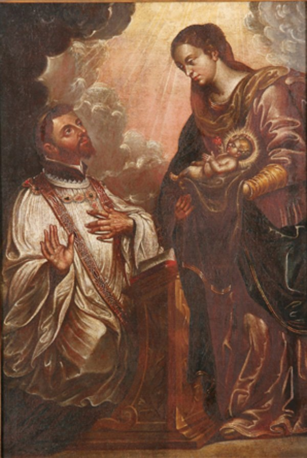 RELIGIOUS OLD MASTER OIL PAINTING, 18TH CENTURY