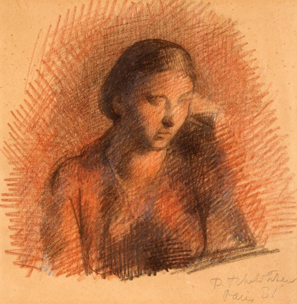 PAVEL TCHELITCHEW RUSSIAN  DRAWING, PARIS 1931