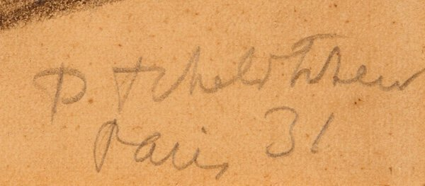 PAVEL TCHELITCHEW RUSSIAN  DRAWING, PARIS 1931 - 2