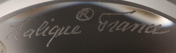 585: 3 LALIQUE GLASS FIGURES - 2