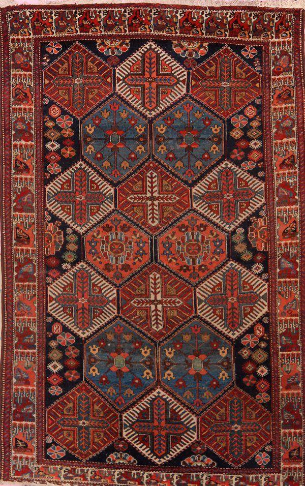 TURKISH CAUCASIAN HAND WOVEN ORIENTAL CARPET