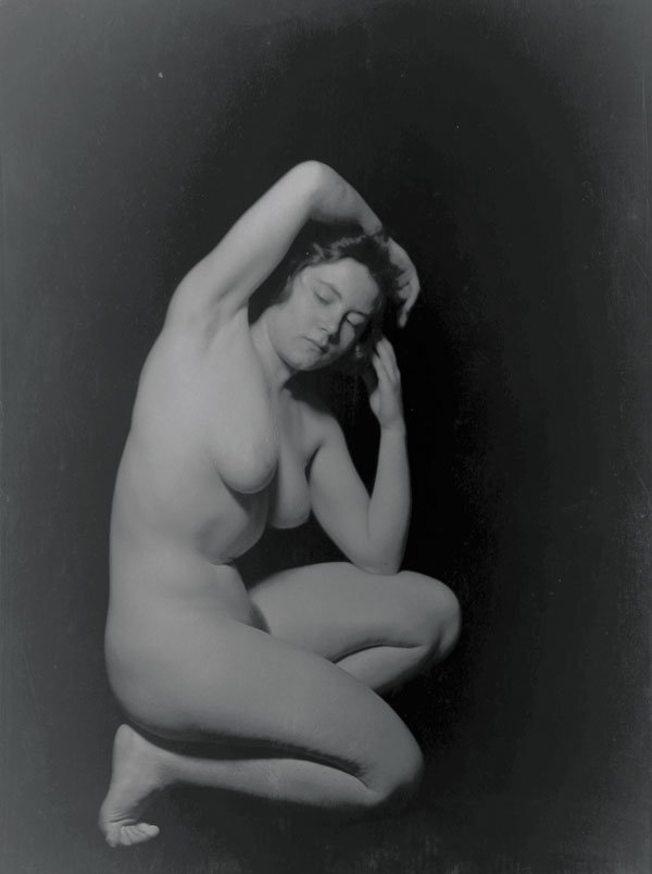 ARNOLD GENTHE FEMALE NUDE PHOTO GROUP - 2