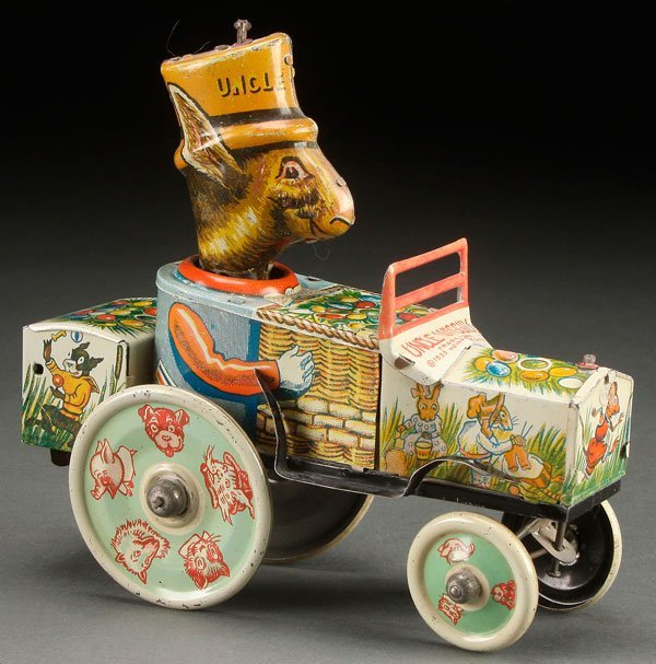 A MARX UNCLE WIGGILY TIN LITHO WIND UP TOY