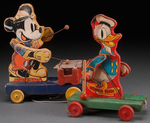 MICKEY MOUSE AND DONALD DUCK FISHER PRICE TOYS