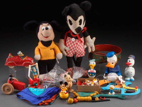 A WALT DISNEY PRODUCTIONS CHARACTER TOY GROUP