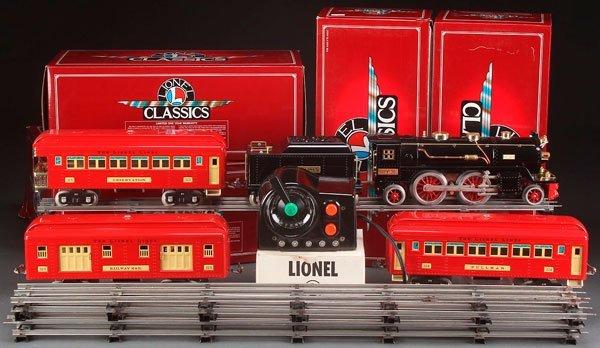A LIONEL CLASSICS TRAIN SET MINT IN BOXES