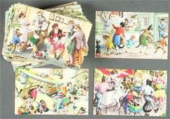 115 ALFRED MAINZER CATS FANTASY POSTCARDS
