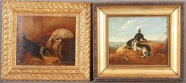 Pair of British Dog Paintings