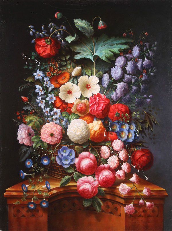 Large Oil Painting Still Life