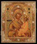 AN EXQUISITE RUSSIAN ICON