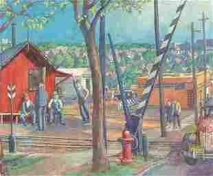 GERRIT VAN SINCLAIR (American 1890-1955