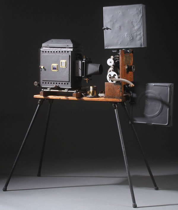 A RARE EDISON PROJECTING KINESCOPE MODEL A
