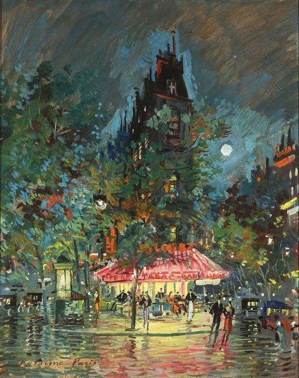 KONSTANTIN KOROVIN(Russian 1861-1939) Paris