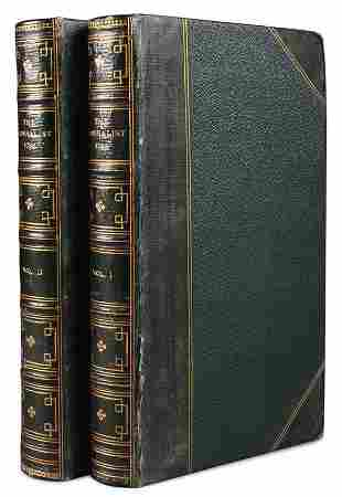 RARE FEDERALIST PAPERS VOL. I & II, 1788
