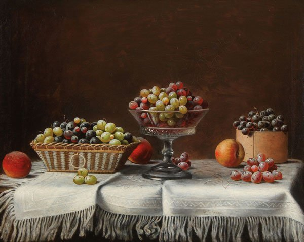 BARTON STONE HAYS, OIL PAINTING STILL LIFE