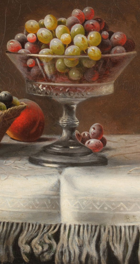 BARTON STONE HAYS, OIL PAINTING STILL LIFE - 5