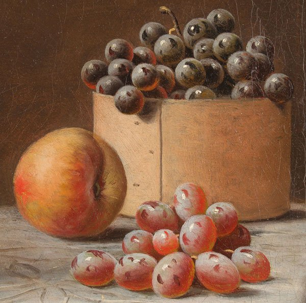 BARTON STONE HAYS, OIL PAINTING STILL LIFE - 6
