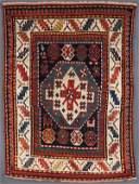 A FINE KAZAK ORIENTAL RUG, SOUTHWEST CAUCASUS