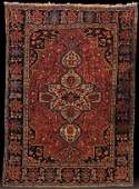 A FARAHAN SAROUK, PERSIAN ORIENTAL RUG