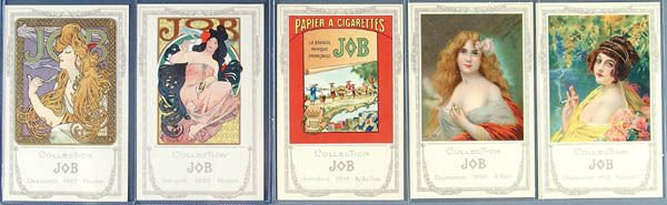11: A COMPLETE SET OF 30 JOB POSTCARDS with envelope,