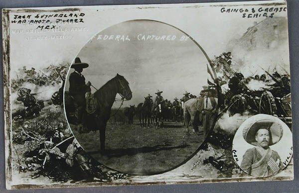 713: A PONCHO VILLA BORDER WAR REAL PHOTO POSTCARD pho