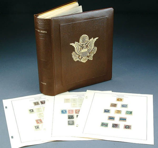 1039: A VERY FINE U.S. POSTAGE STAMP COLLECTION compris