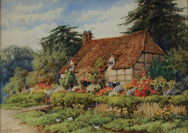 "6: LILIAN STANNARD (British 1877-1944) ""The Country"
