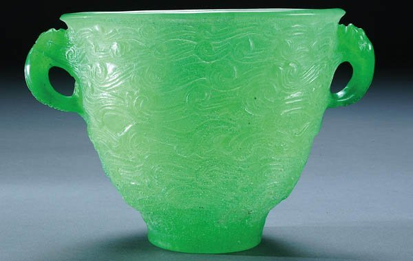517: FRANCOIS DECORCHEMONT (French 1880-1971) Emerald