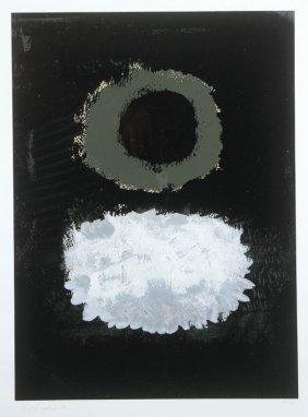 Adolf Gottleib Signed Screen Print, 1972