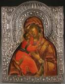 RUSSIAN ICON, MOSCOW, DATED 1740