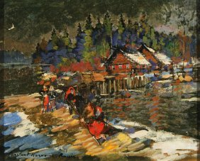 Russian Painting By Korovin