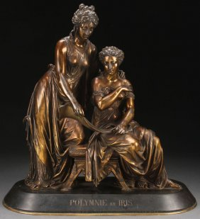 19th Century French Bronze Grouping