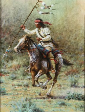Native American Painting By Jimmy Abeita