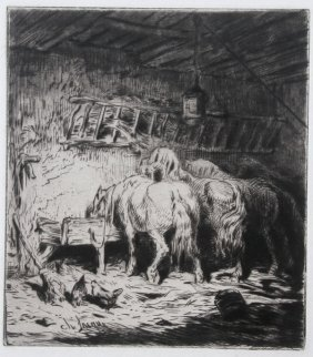 7 Signed Etchings, C 1875-1925