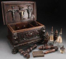 An Interesting Fantasy Cased Vampire Killing Kit,