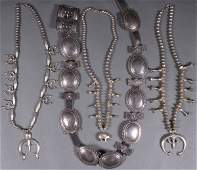 SOUTHWEST NATIVE AMERICAN SILVER JEWELRY
