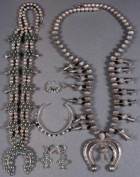 Southwest Native American Silver Jewelry