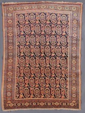 A Senneh, Northwest Persian Rug, Circa 1910-1950.