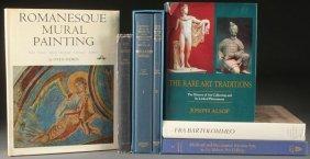 Seven Medieval And Renaissance Art Books.