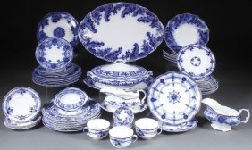 A 73 Piece Collection Of English Staffordshire Fl