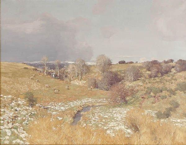 "1: GEORGE HOUSTON (Scottish 1869-1947) ""Expansive La"