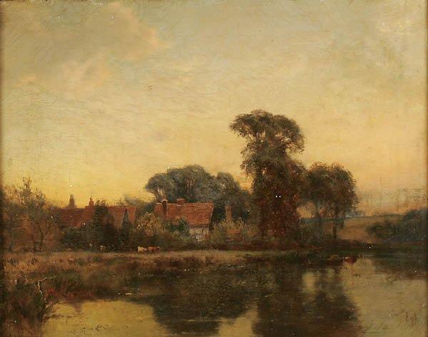 "8: ALFRED DE BREANSKI SR. (British 1852-1928) ""Littl"