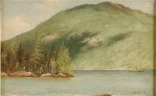 "147: CHARLES HENRY GIFFORD (American 1839-1904) ""Lake"