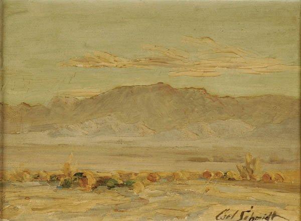 "189: CARL SCHMIDT (American 1885-1969) ""Early Morning"