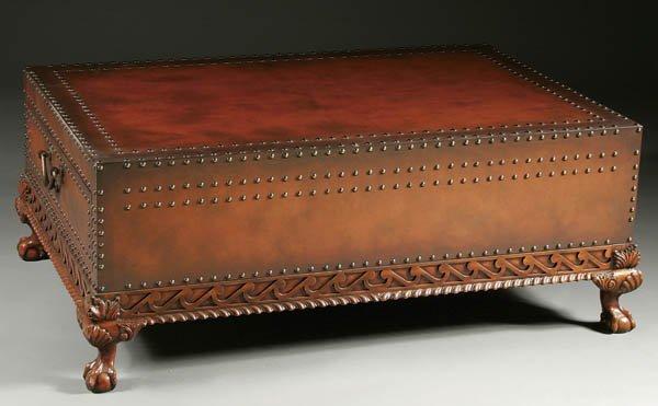 1299: RALPH LAUREN DALTON COCKTAIL TABLE late 20th cent