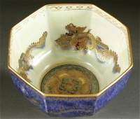"""1464: A WEDGWOOD """"FAIRYLAND LUSTRE"""" BOWL early 20th ce"""