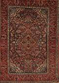 1541 A VERY GOOD HANDWOVEN PERSIAN KASHAM ORIENTAL RUG