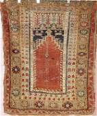 1594 PERSIAN HAND WOVEN ORIENTAL RUG circa 1930s hol