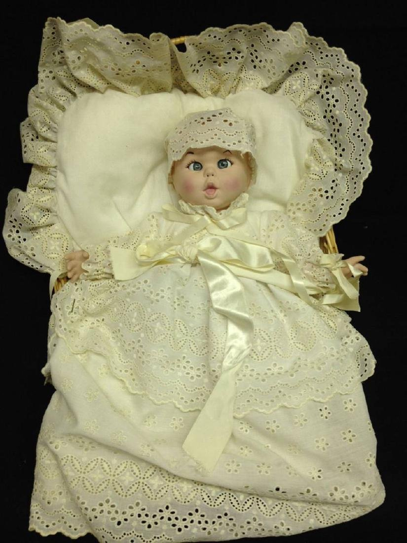 Vintage Advertising Gerber Baby In Christening Gown